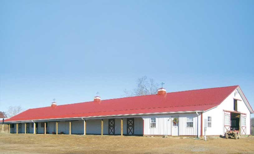 industrial barn