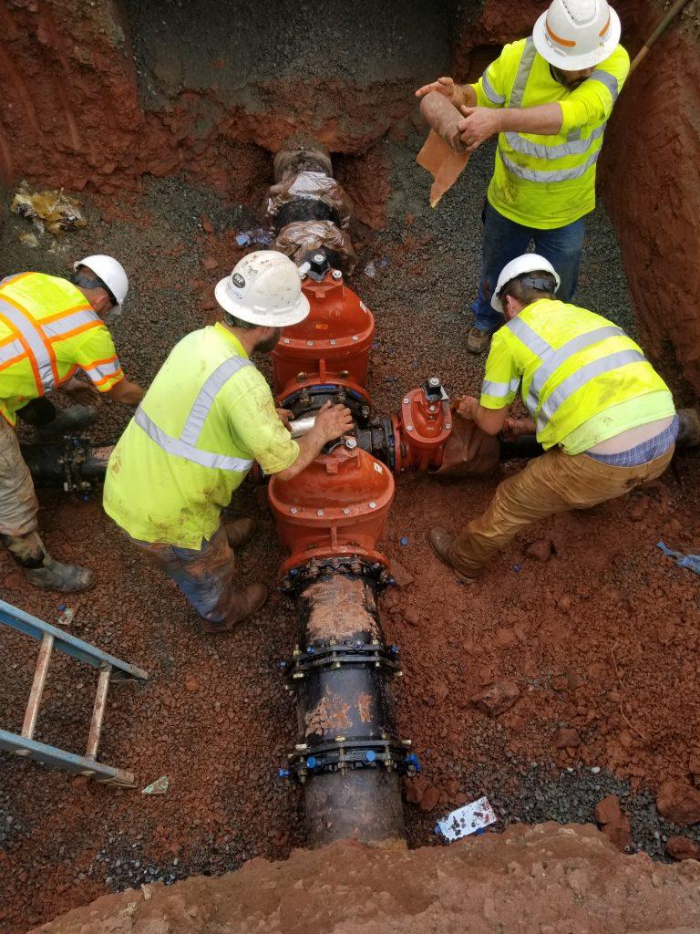Water Main Valve Replacement, Sterling, VA